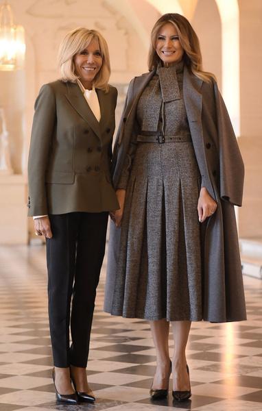 Фото №9 - Как выглядит Брижит Макрон на фоне других Первых леди
