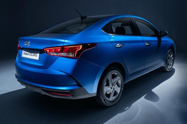 Фото №2 - В Питере представили новый Hyundai Solaris