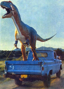 Фото №2 - Динозавров погубили... космические странники
