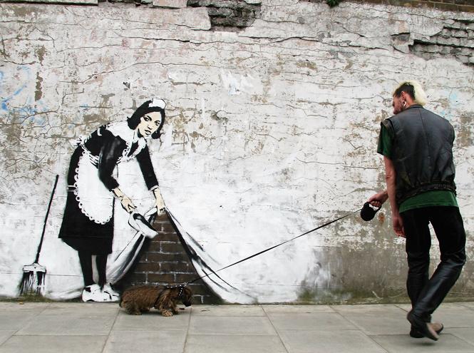 Фото №18 - Кто такой Бэнкси: художник, «качественный вандал» и провокатор