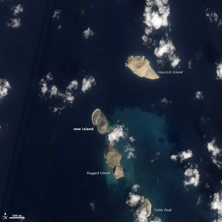Фото №1 - В Красном море образовались два новых острова