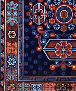 Фото №2 - Ковер пяти цветов
