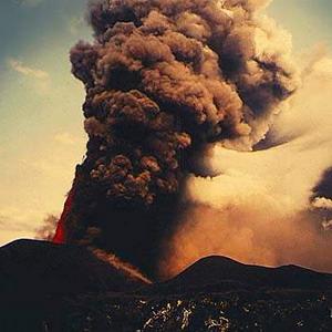 Фото №1 - Камчатку посыпает пеплом