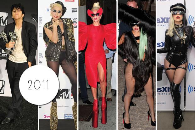 Эволюция стиля Леди Гаги: 2011 год