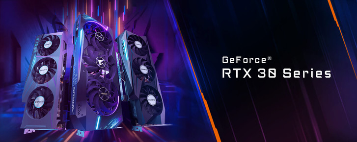 Фото №4 - GIGABYTE анонсирует семейство графических плат AORUS GeForce RTX 30-й серии