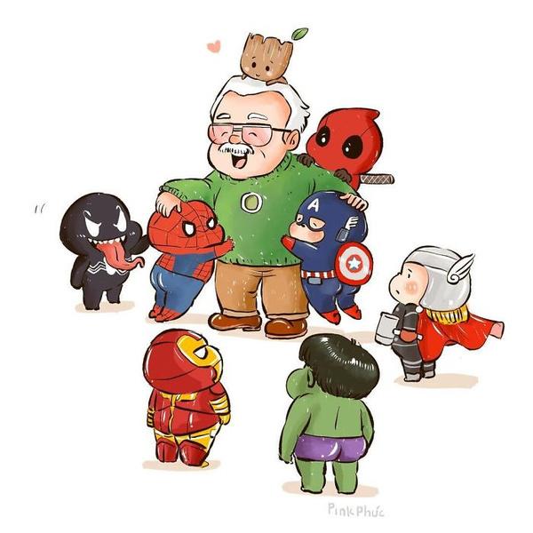 Фото №10 - Так трогательно: фанаты Marvel нарисовали комиксы в память о Стэне Ли