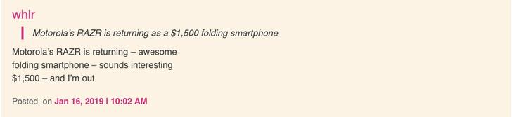 Фото №2 - I'm back: легендарная раскладушка Motorola возвращается в продажу