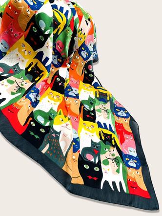 Фото №18 - Модные шарфы на осень 2021: 20 вариантов на любой вкус