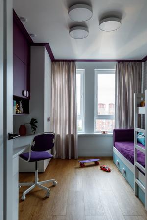 Фото №11 - Всплеск цвета: яркая квартира 81,6 м²