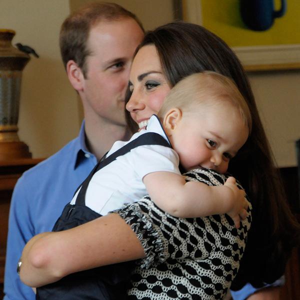 Фото №14 - Принц Джордж Кембриджский: три года в фотографиях