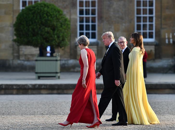 Фото №7 - Мелания Трамп «украла шоу» на гала-ужине в Бленхеймском дворце