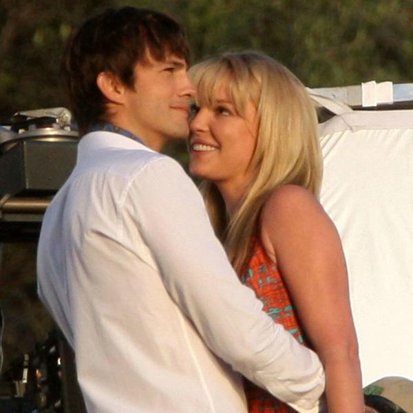 Фото №3 - Эштон Катчер целует Кэтрин Хейгл