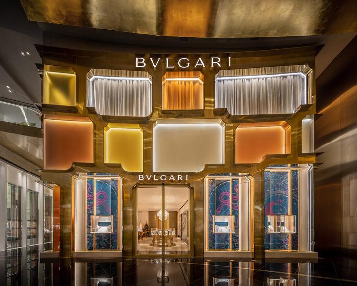 Фото №1 - Новый бутик Bvlgari в Бангкоке по проекту MVRDV
