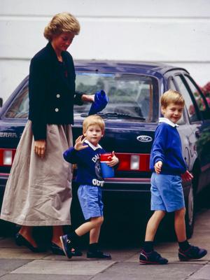 Фото №4 - Любовь матери: почему у Дианы была более сильная связь с Гарри (но не с Уильямом)