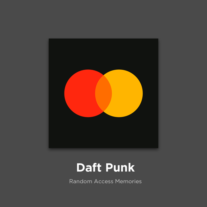 Фото №4 - 27 альбомов поп- и рок-звезд в виде известных логотипов