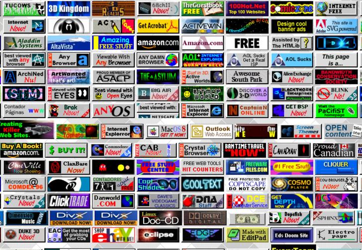 Фото №1 - Ссылка дня: виртуальный музей интернет-баннеров из 90-х