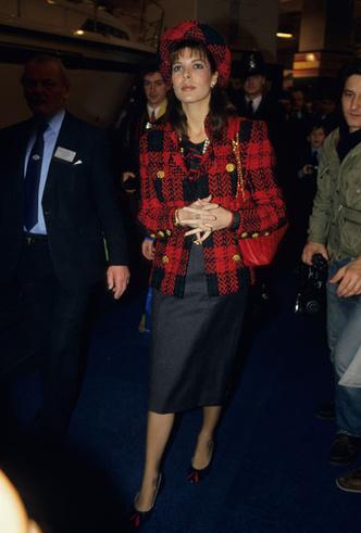 Фото №8 - Стиль принцессы Каролины: модные правила старшей дочери Грейс Келли