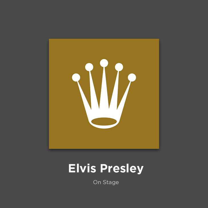 Фото №19 - 27 альбомов поп- и рок-звезд в виде известных логотипов
