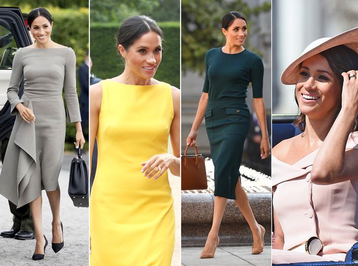 Фото №1 - Герцогиня Меган тратит на наряды больше герцогини Кейт