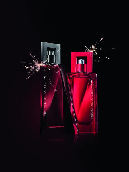 Фото №1 - Для него и для нее: у Avon вышли новые парные ароматы Attraction Desire
