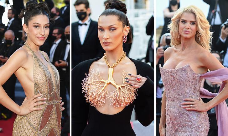 Фото №1 - Самые откровенные платья Каннского кинофестиваля (много фото)