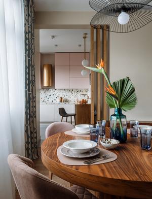 Фото №6 - Московская квартира 130 м² в пастельных тонах