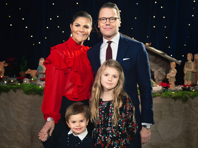 Фото №17 - Самые милые и долгожданные рождественские королевские открытки 2019