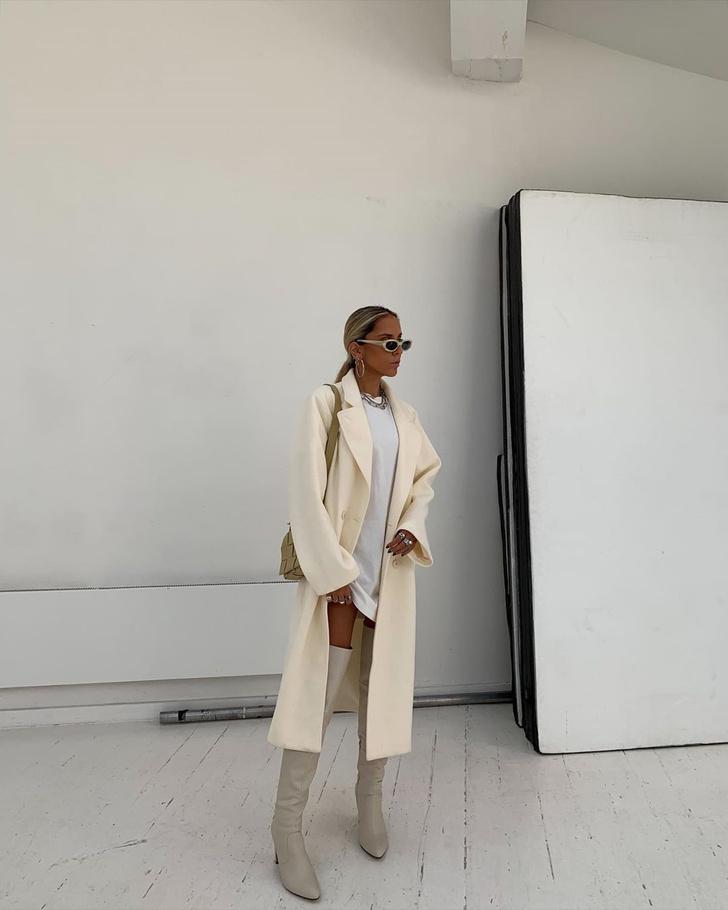 Фото №1 - С чем носить ботфорты этой осенью: безупречный образ стилиста Софии Коэльо