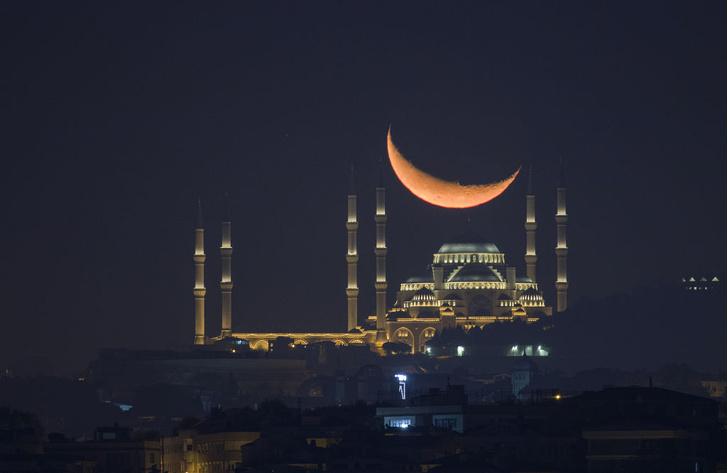 Фото №1 - Месяц над мечетью