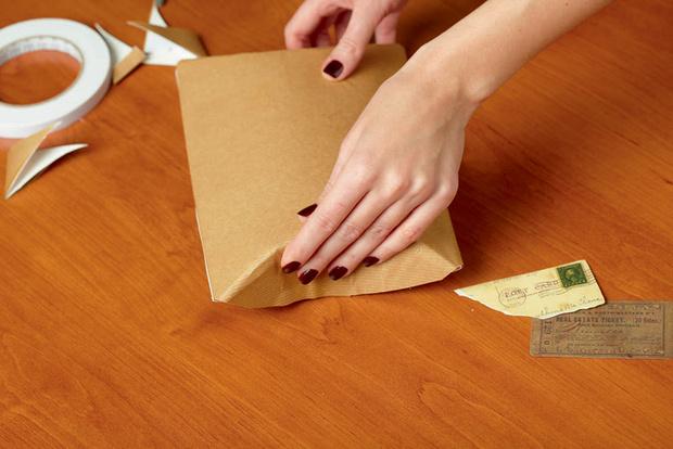 Фото №14 - Мастер-класс: Делаем открытку и упаковываем подарок