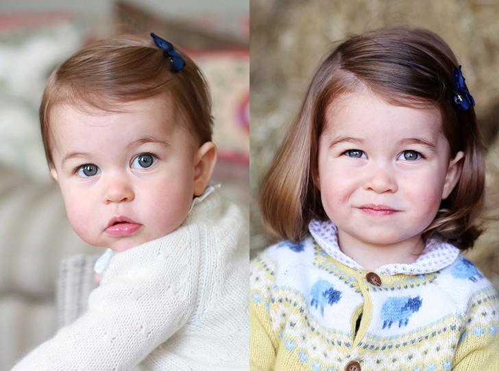 Фото №1 - Принцесса Шарлотта Кембриджская: второй год в фотографиях