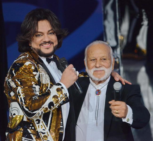 Филипп Киркоров с отцом фото