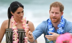 Принц Гарри носит на пальце черное кольцо