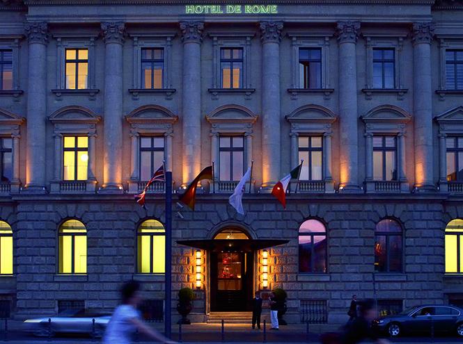 Вид на фасад отеля