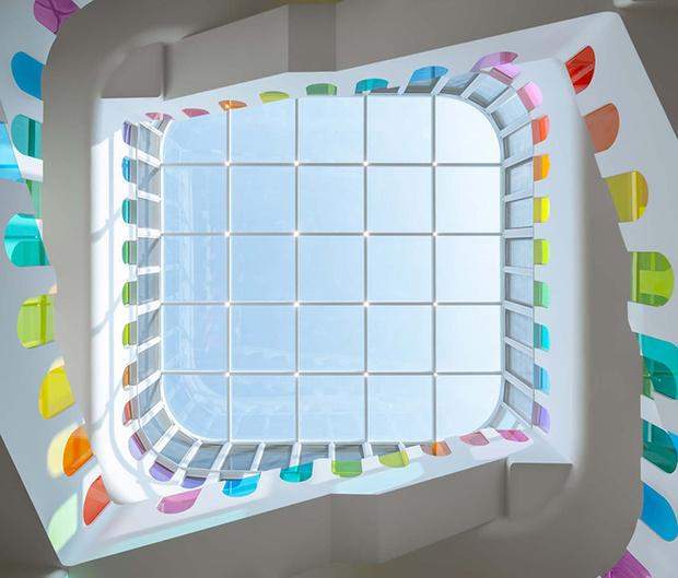 Фото №8 - Детский сад в форме торта, который может менять цвета: фото