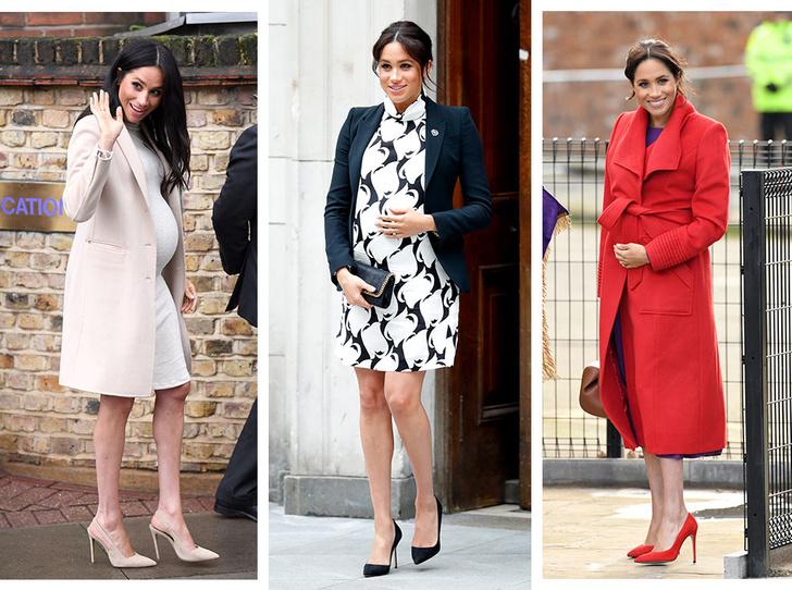 Фото №1 - Почему герцогиня Меган не отказывается от шпилек во время беременности