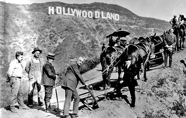 Фото №2 - История той самой надписи «Голливуд» на холмах