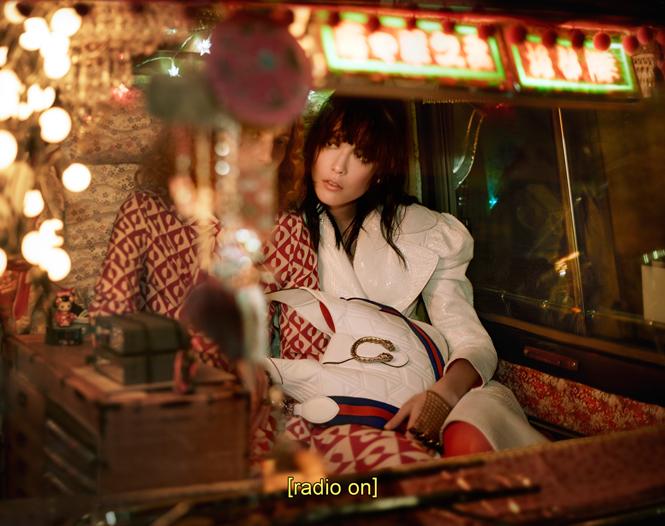 Фото №5 - Японское приключение Петры Коллинс и Ко: новая кампания Gucci