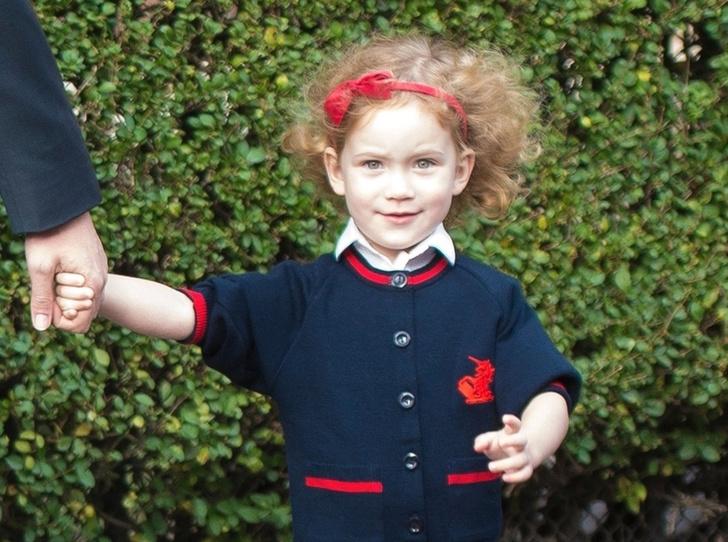 Фото №1 - Еще одна из рода Виндзоров: тетя принца Джорджа стала его одноклассницей