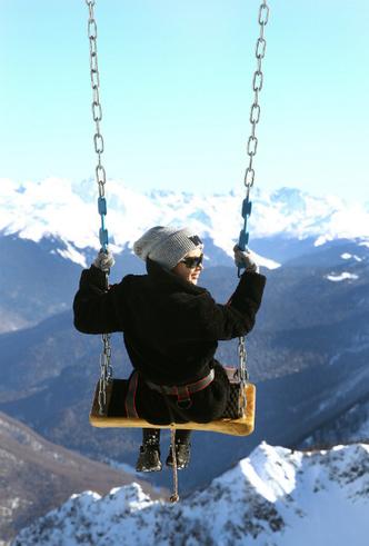 Фото №2 - Побег из Москвы: идеальный девичник в горах
