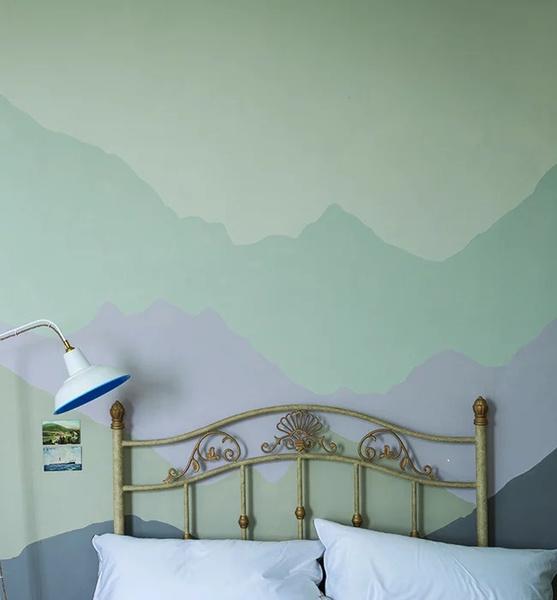 Фото №11 - Цветные сны: Color Blocking в спальне