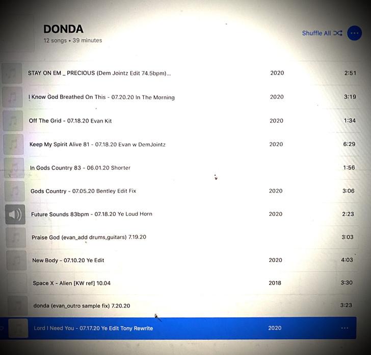 Фото №2 - Канье Уэст опубликовал обложку своего нового альбома DONDA
