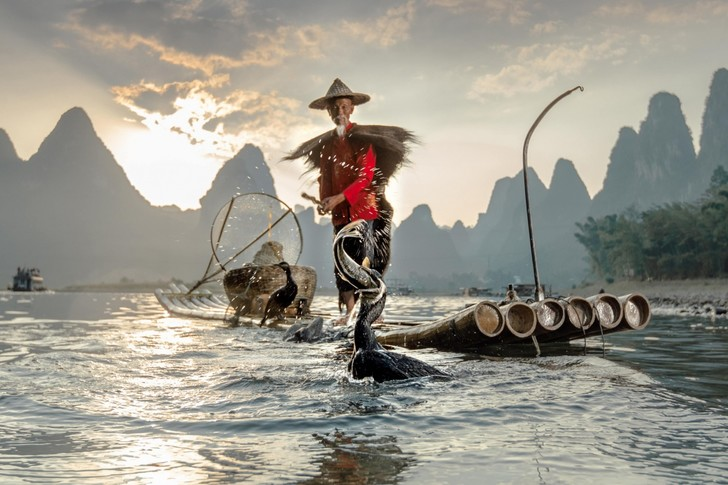 Фото №1 - Необычная рыбалка