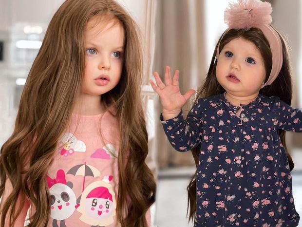 Фото №1 - «Откуда у вас вообще парик?»: Анастасию Тарасову раскритиковали за то, что она примерила дочерям длинные волосы