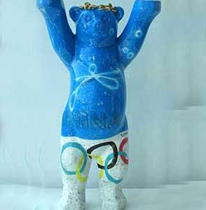 Фото №1 - Талисманы сочинской Олимпиады: медведь и дельфин