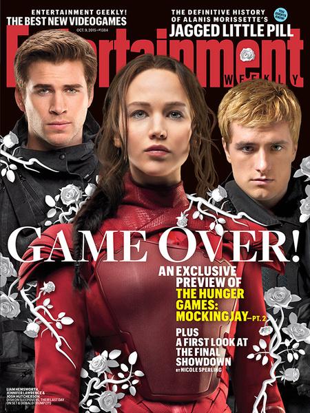 Фото №2 - Новая обложка и интервью с актерами «Голодных игр»