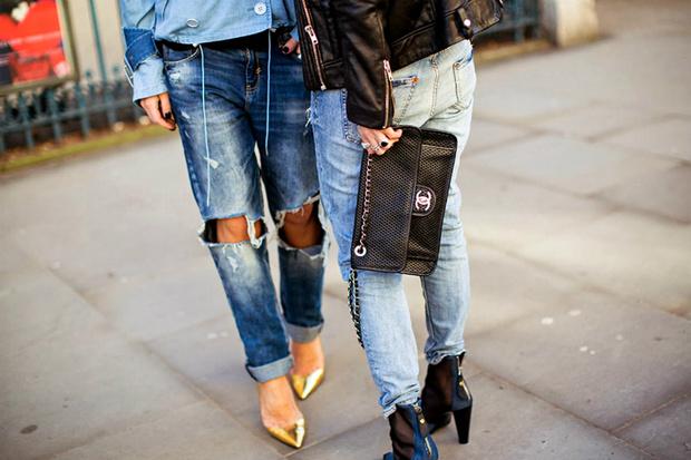 Фото №1 - Модные джинсы: с чем носить и кому подойдут