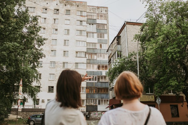 Фото №2 - Прогулка по тихому центру c руководителем пресс-службы Ельцин Центра Евгенией Капитонихиной