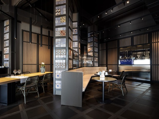 Фото №1 - Новое кафе-бар Miscela d'Oro по дизайну Пьеро Лиссони