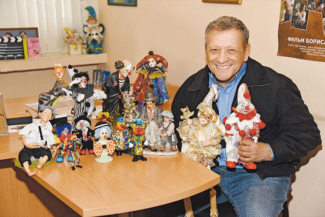 Фото №1 - Борис Грачевский показал свою коллекцию клоунов